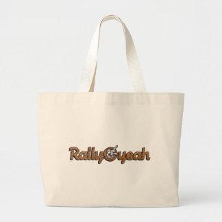 Rally-O-yeah 2 Large Tote Bag