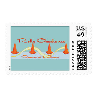 Rally Obedience, Dances with Cones Stamps