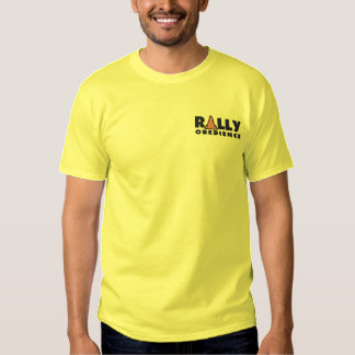 Rally Obedience Embroidered T-Shirt