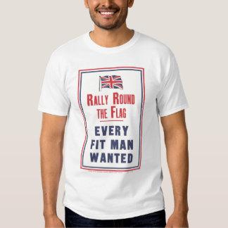 """"""" Rally Round!"""" Tee Shirt"""
