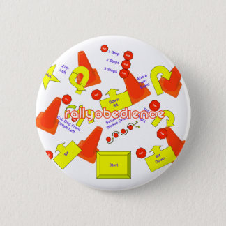 Rally Signs Pinback Button
