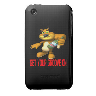 Rally Squirrel Case-Mate iPhone 3 Case