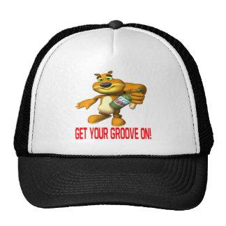 Rally Squirrel Trucker Hat