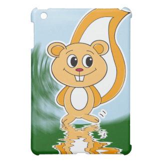 Rally Squirrel iPad Mini Cover