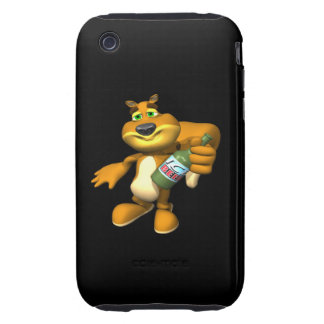 Rally Squirrel iPhone 3 Tough Cover