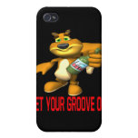Rally Squirrel iPhone 4/4S Cases