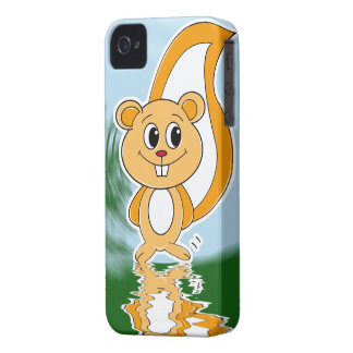 Rally Squirrel iPhone 4 Case