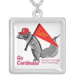 rally squirrel necklace