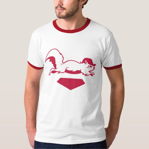 Rally Squirrel T-shirts