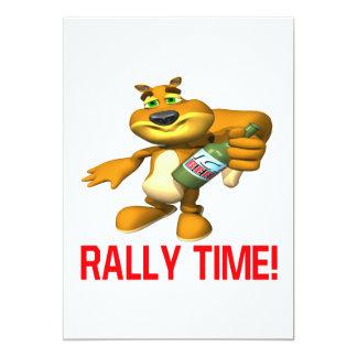 Rally Time Card