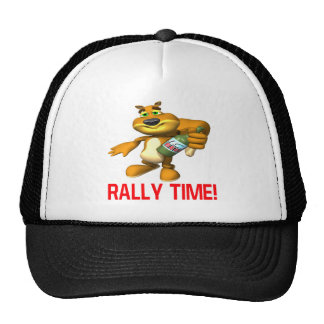 Rally Time Trucker Hat