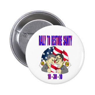 RALLY to RESTORE SANITY button