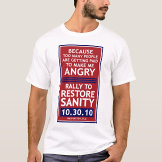 Rally To Restore Sanity T-Shirt