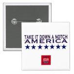 Rally to Restore Sanity--Take It Down A Notch Pinback Button