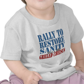 Rally To Restore Sanity Tee Shirts
