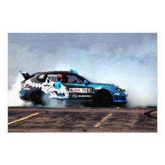 Rally USA Subaru STi Drifting Photo Print