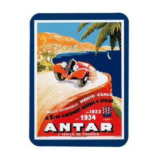 Rallye Automobile Monte Carlo Rectangular Photo Magnet