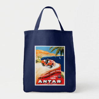 Rallye Automobile Monte Carlo Tote Bag