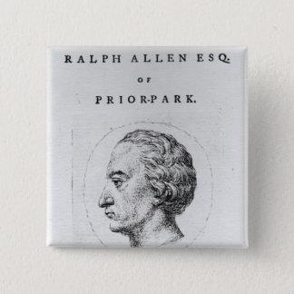 Ralph Allen, 1764 Button