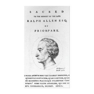 Ralph Allen, 1764 Gallery Wrap Canvas