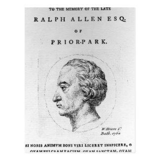 Ralph Allen, 1764 Post Cards