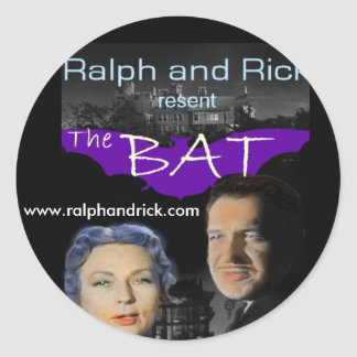 Ralph and Rick resent THE BAT sticker