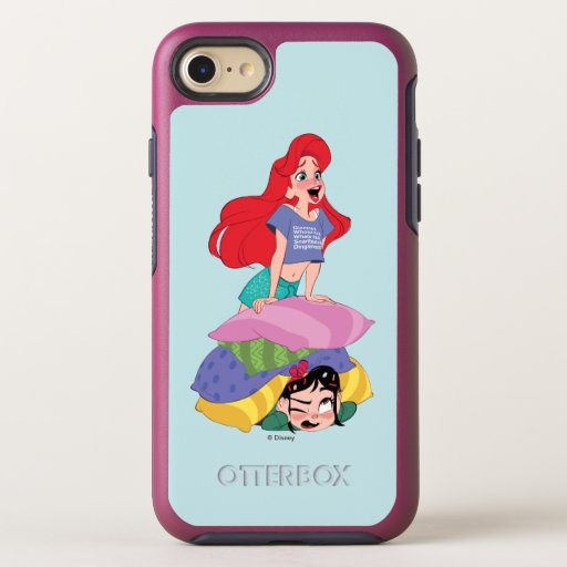 Ralph Breaks the Internet | Ariel & Vanellope OtterBox Symmetry iPhone 8/7 Case