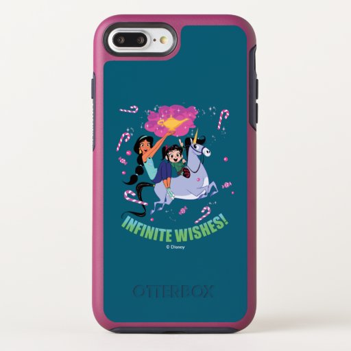 Ralph Breaks the Internet | Jasmine & Vanellope OtterBox Symmetry iPhone 8 Plus/7 Plus Case
