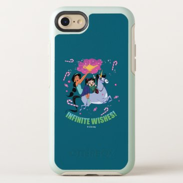 Ralph Breaks the Internet   Jasmine & Vanellope OtterBox Symmetry iPhone 8/7 Case
