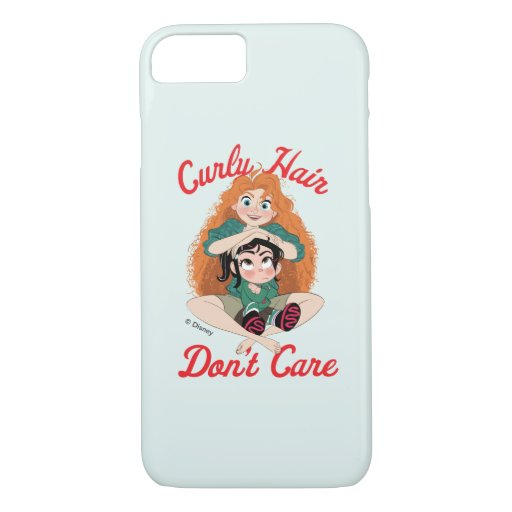 Ralph Breaks the Internet | Merida - Curly Hair iPhone 8/7 Case