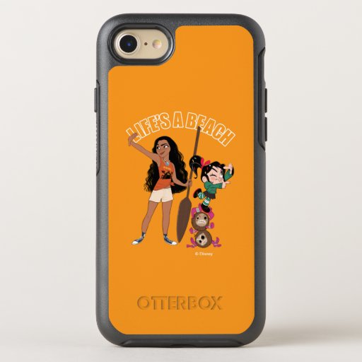 Ralph Breaks the Internet | Moana - Life's a Beach OtterBox Symmetry iPhone 8/7 Case