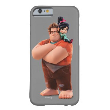 Ralph Breaks the Internet   Ralph & Vanellope Barely There iPhone 6 Case