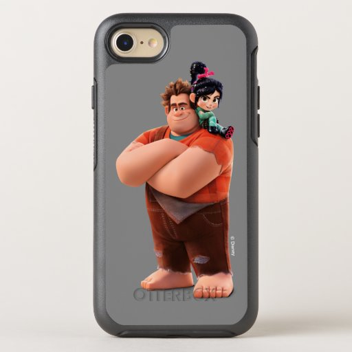 Ralph Breaks the Internet | Ralph & Vanellope OtterBox Symmetry iPhone SE/8/7 Case