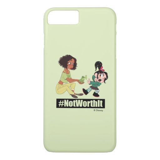 Ralph Breaks the Internet | Tiana - #NotWorthIt iPhone 8 Plus/7 Plus Case