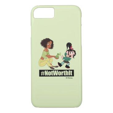 Ralph Breaks the Internet   Tiana - #NotWorthIt iPhone 8/7 Case