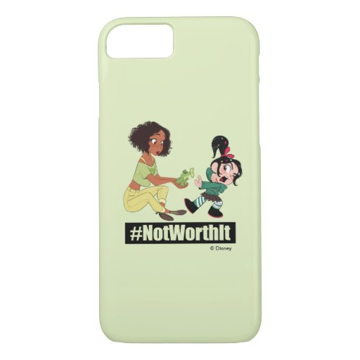 Ralph Breaks the Internet | Tiana - #NotWorthIt iPhone 8/7 Case