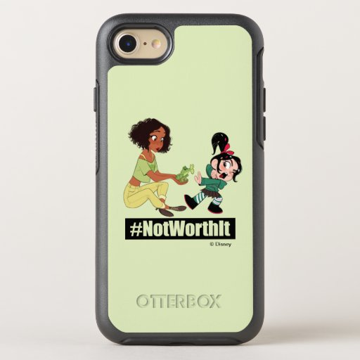 Ralph Breaks the Internet | Tiana - #NotWorthIt OtterBox Symmetry iPhone SE/8/7 Case