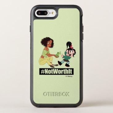 Ralph Breaks the Internet   Tiana - #NotWorthIt OtterBox Symmetry iPhone 8 Plus/7 Plus Case