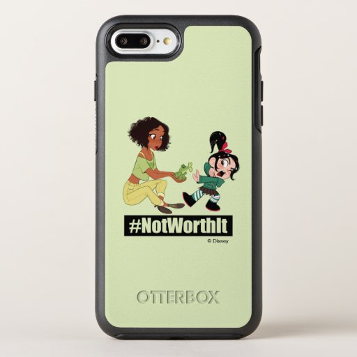 Ralph Breaks the Internet | Tiana - #NotWorthIt OtterBox Symmetry iPhone 8 Plus/7 Plus Case