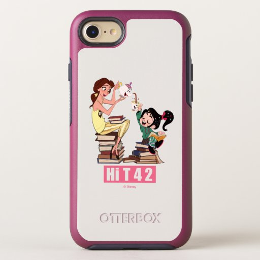 Ralph Breaks the Internet | Vanellope & Belle OtterBox Symmetry iPhone 8/7 Case