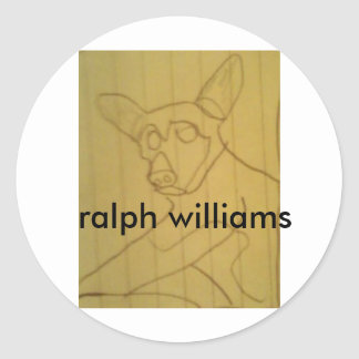 Ralph Classic Round Sticker