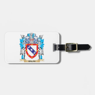 Ralph Coat of Arms - Family Crest Bag Tags