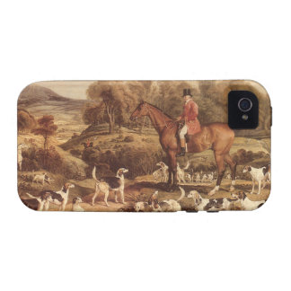 Ralph Lambton and his Hounds by James Ward iPhone 4/4S Covers