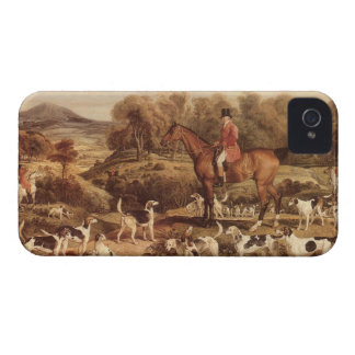 Ralph Lambton and his Hounds by James Ward iPhone 4 Case-Mate Case