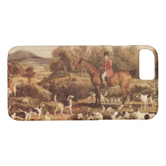 Ralph Lambton and his Hounds by James Ward iPhone 8/7 Case
