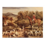 Ralph Lambton and his Hounds by James Ward Post Card
