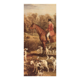 Ralph Lambton and his Hounds by James Ward Rack Card