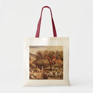 Ralph Lambton and his Hounds by James Ward Tote Bag