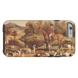 Ralph Lambton and his Hounds by James Ward Tough iPhone 6 Case