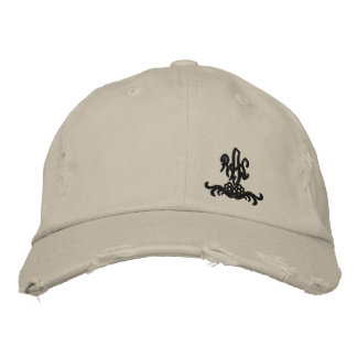 Ralph lauren and nigel embroidered baseball hat